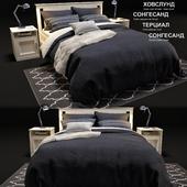 IKEA SONGESAND bed