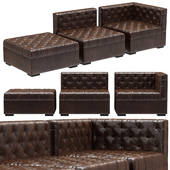 RH Teen Everly Modular Lounge Customizable Sectional