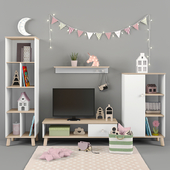 Paidi furniture YLVIE collection for girls part 02