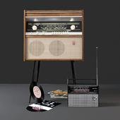 Rigonda Stereo and VEF 202