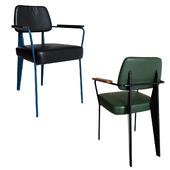 Kolten Metal Arm Chair