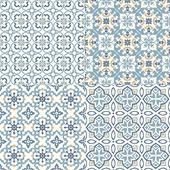 Arabic Ornamental Seamless Patterns