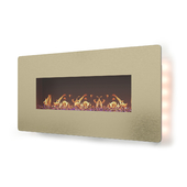 3D Flames Wall Mounted Electric Fireplace & Wall Sconce
