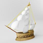 Decorative_boat_ Handmade