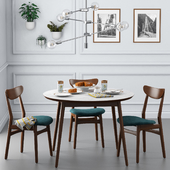 Dining set001 - West Elm