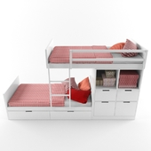 Kid bed_2 floor
