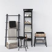 Ikea Hemnes and Vilto bathroom set # 2