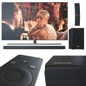 TV 55 'and Samsung soundbar.