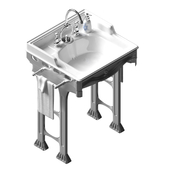 Sink with base