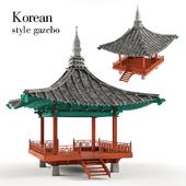 Беседка в Корейском стиле
