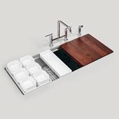 """KOHLER Stages 45"""" under-mount single-bowl kitchen sink"""
