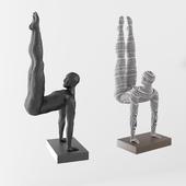 Athlete figurine