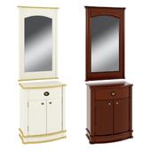 Cabinet 1424 + Mirror 1197 Atrium