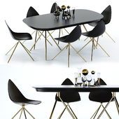BoConcept Ottawa Table and Chair