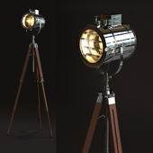 Thor Vintage Stage Searchlight
