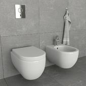 Toilet and bidet Villeroy & Boch
