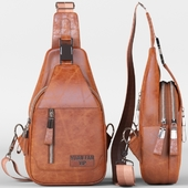 Bag leather Yuan Fan