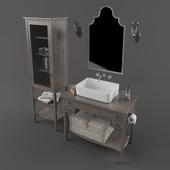 Bathroom furniture set 1