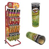 Pringles stand