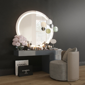 MakeUP Dressing Table Decorative Set Set_02