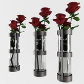 Frankie Metallic Vase