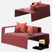 Paola lenti. Frame Garden armchair B18TS
