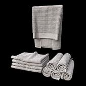 towels waffle set