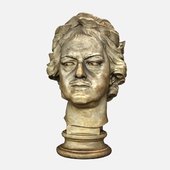 Plaster sketch of the Bronze Horseman's head