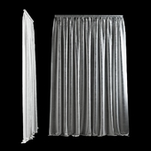Animated Wide Curtain for sliding doors