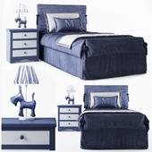 Bed children's Mobili di Castello Night