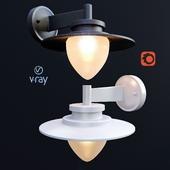 SESMA, наружное освещение, настенные светильники от компании LUCIDE, Бельгия.