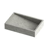 Concrete concrete sink