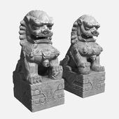 Небесные львы Будды