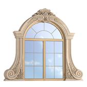 Classic window frame