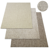 Rope Basket Weave Rug RH Modern Collection