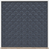 3D Panel Wall № 018