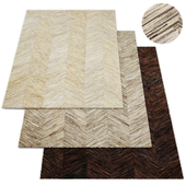 Cowhide Fino Rug RH Collection