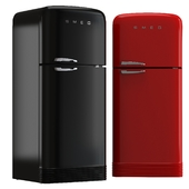 Refrigerator two-chamber SMEG