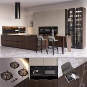 Kitchen Poliform Shape EUROCUCINA 2018 (vray GGX, corona PBR)