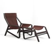 Toro Lounge Chair with Ottoman