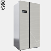 Refrigerator Liberty KSBS-538 GG (Side-by-Side)