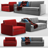 Alberta armchair and sofa beds Space