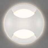 LED recessed wall luminaire for lighting the steps of the stairs integrator IT-702 AURA