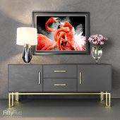 """Chest of drawers from the Italian factory """"Tosconova"""""""