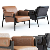 West Elm Stanton Leather Chair