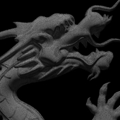 """Bas-relief """"Chinese Dragon"""""""