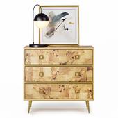 Bronaugh 3 Drawer Dresser by Bungalow Rose