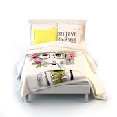 """Bed. Lingerie set Lilac """"Summer Smoothie"""" 2-bedroom"""