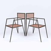 Chair-Metal-Mesh