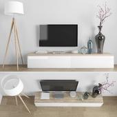 TV stand set 035